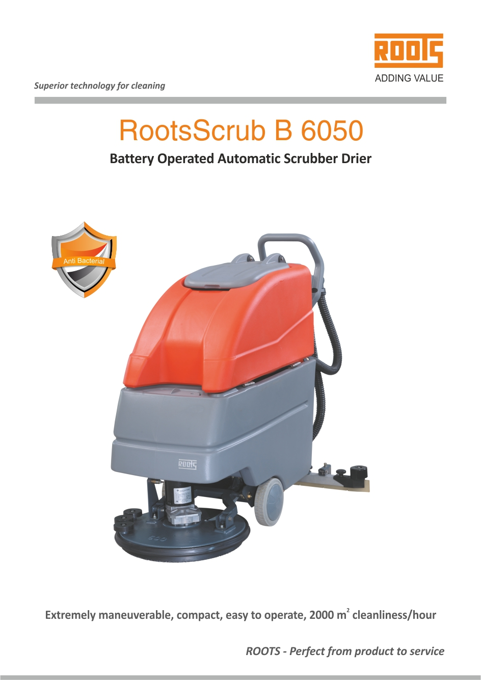 Industrial Floor Scrubber Machine