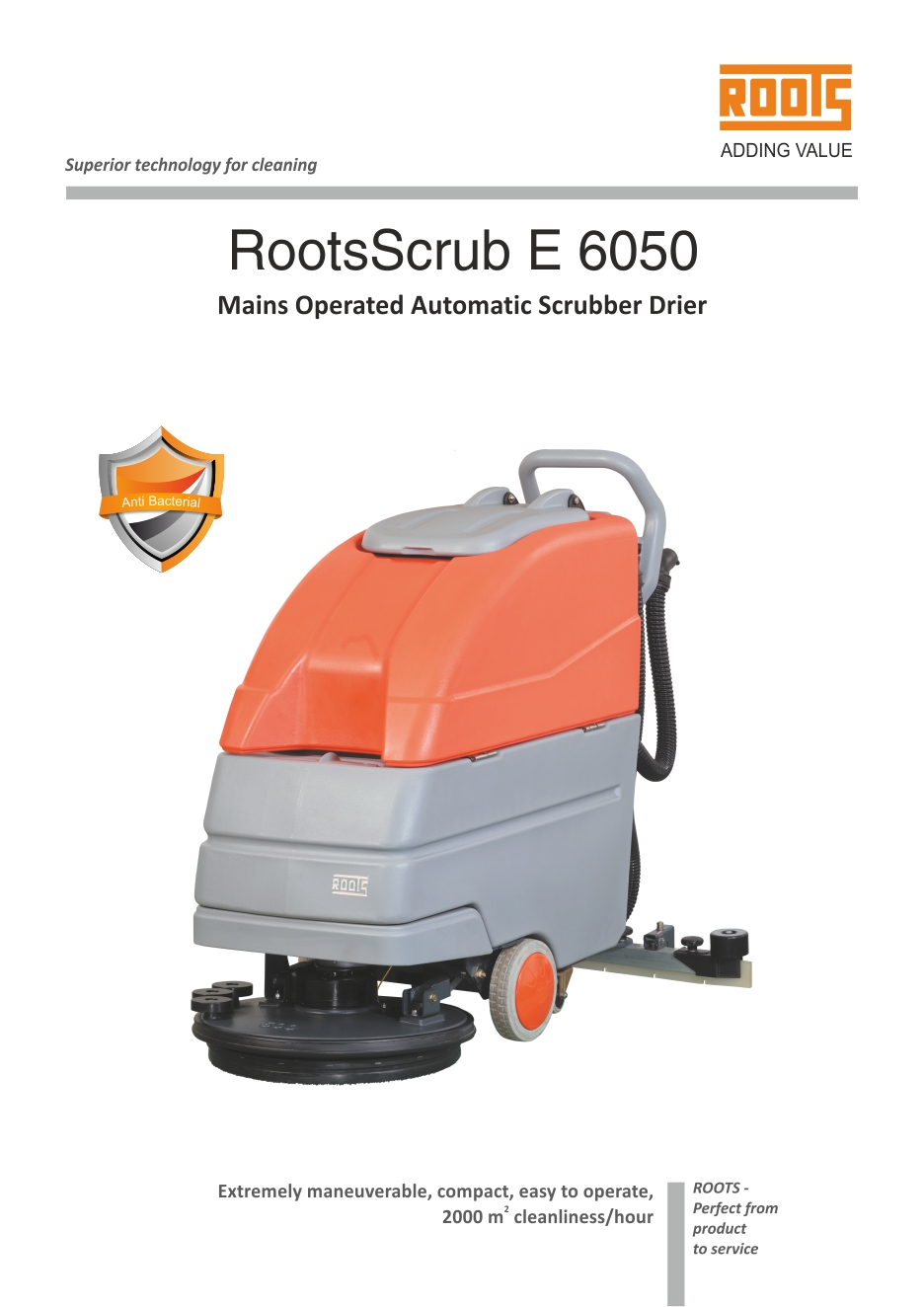 Roots Scrubber Drier