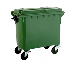 Industrial Dustbin With Wheels