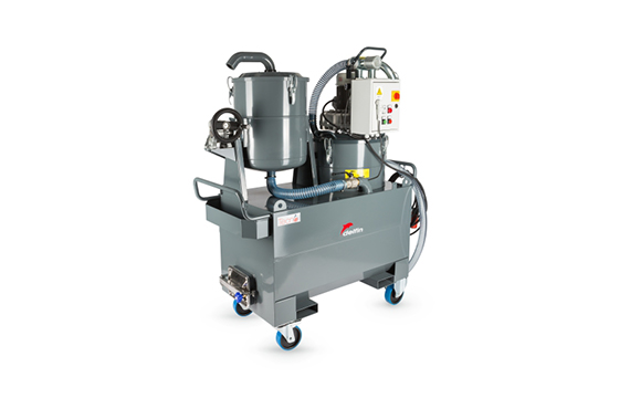 TECNOIL 400 IF Three Phase Industrial Vacuum Cleaner