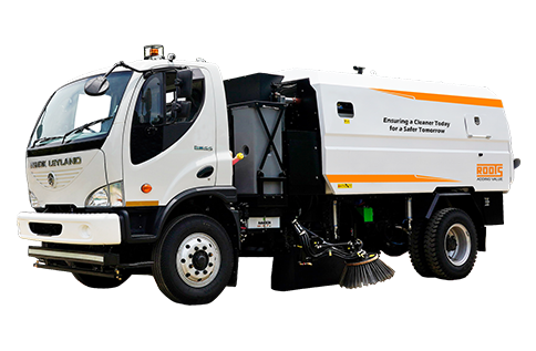 Truck Mounted City Sweeper