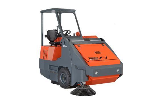 Heavy Duty Industrial Ride On Sweeper