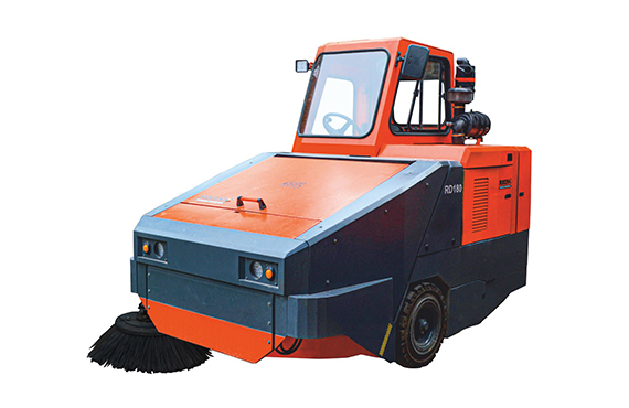 Rhino RD180 Power Sweeper