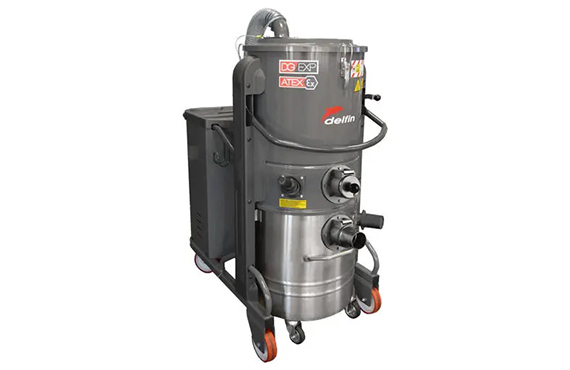 DG 50 Three Phase Industrial Vacuum Cleaner